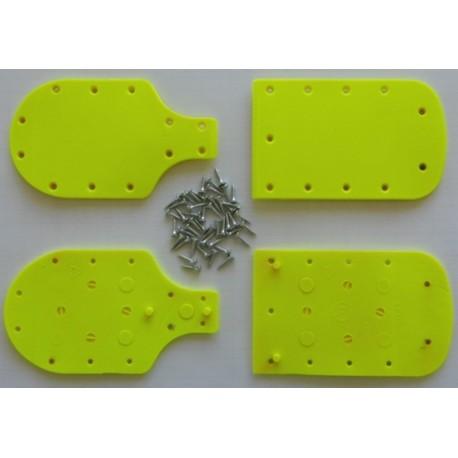 Heel/Toe lifters 5mm