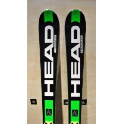 Used ski HEAD MAGNUM with bindings HEAD