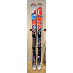 Used ski HEAD  RESIDUE with bindings HEAD