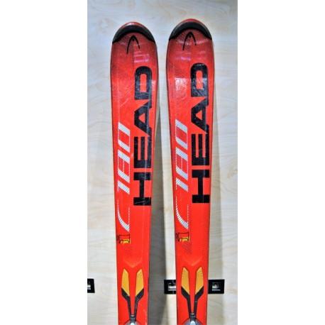 Used ski HEAD i C 180 with bindings HEAD