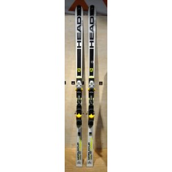 Μεταχειρισμένα σκι HEAD WORLDCUP REBELS i.GS RD με δέστρα HEAD