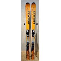 Μεταχειρισμένα σκι HEAD  big easy με δέστρα HEAD
