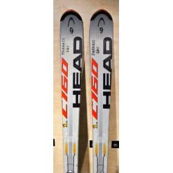 Μεταχειρισμένα σκι HEAD i C 160 με δέστρα HEAD