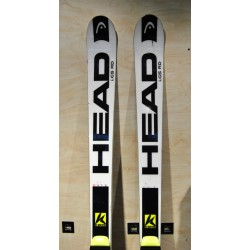 Used ski HEAD WORLDCUP REBELS i.GS RD with bindings HEAD