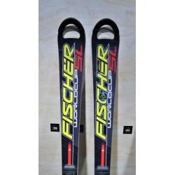 Μεταχειρισμένα σκι FISCHER Worldcup sl με δέστρα