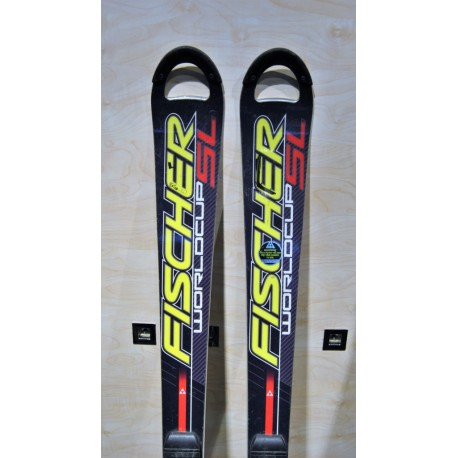 Used ski FISCHER Worldcup sl with bindings