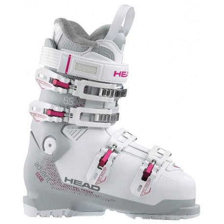 Woman Ski boots HEAD ADVANT EDGE 65 W white/gray (2018)