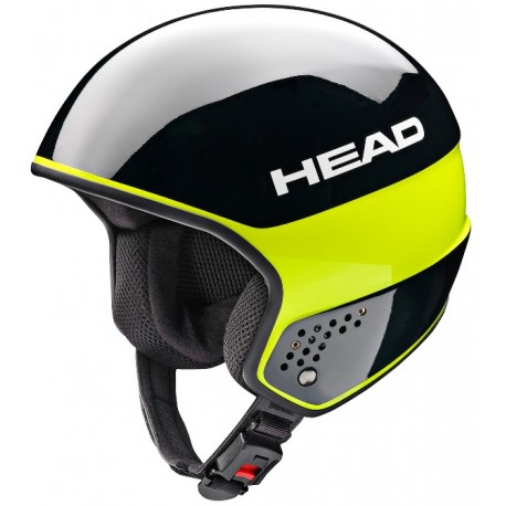 Helmet HEAD Stivot Race Carbon black lime (2018)