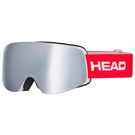 Μάσκα HEAD Infinity FMR silver/red (2018)