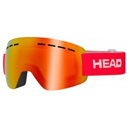 Goggles  HEAD Solar FMR red (2018)