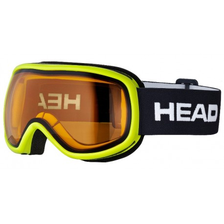 Kids goggles HEAD Ninja lime/black (2018)