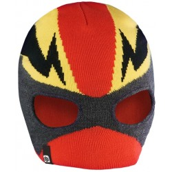 BREKKA Mask beanie red