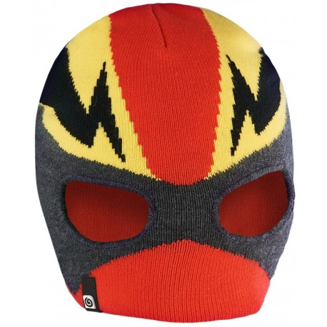 BREKKA Mask beanie red