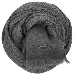 BREKKA Nebbiolo scarf grey
