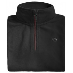 Microfleece zippy man BREKKA black
