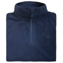 Microfleece zippy man BREKKA navy
