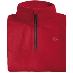 Microfleece zippy man BREKKA red