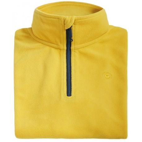 Μπλούζα φλις ανδρική BREKKA yellow