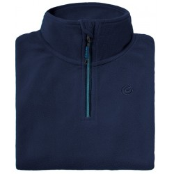 Microfleece zippy woman BREKKA navy