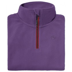 Microfleece zippy woman BREKKA violet