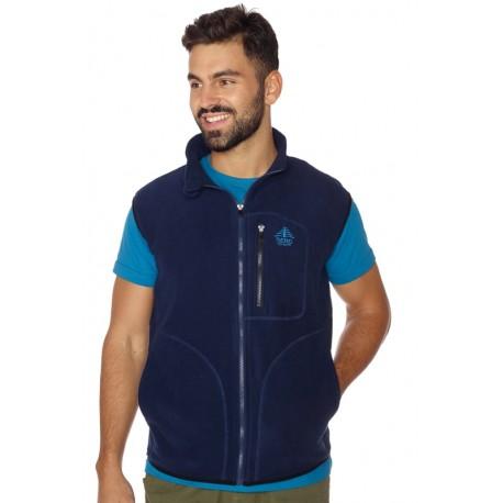 Men vest fleece BERG blue