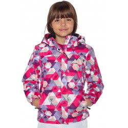 Junior jacket BERG pink geo