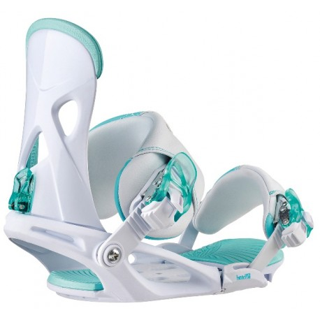 HEAD Snowboard Bindings NX FAY I WHITE