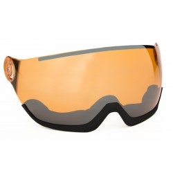 SPARE VISOR ORANGE SILVER XL