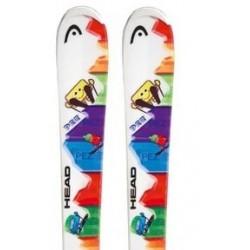 Ski HEAD PEZ TEAM with bindings TYROLIA SX  4.5 AC