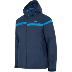 Man ski jacket 4F navy dark