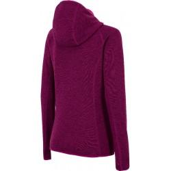 Woman hoody 4F violet