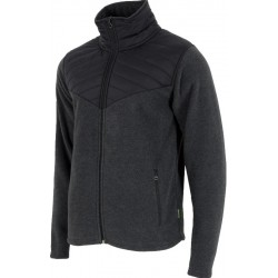 Man fleece 4F dark grey