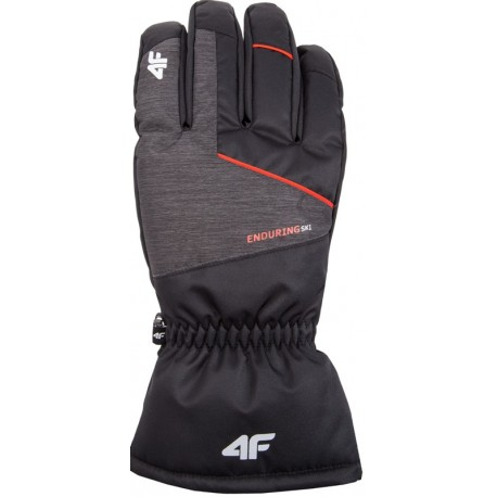 Man waterproof gloves 4F grey