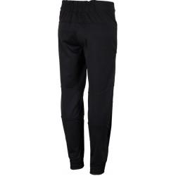 Woman ski pants 4F black softshell