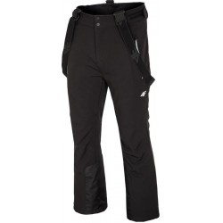 Man ski pants 4F softshell black