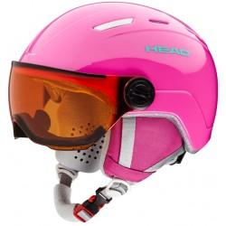 Παιδικό κράνος HEAD MAJA Visor pink