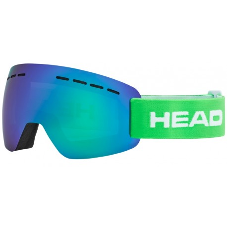 Μάσκα HEAD Solar FMR green