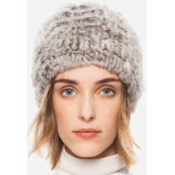 DIAMOND LAPIN BEANIE nat