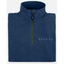 BREKKA MICROFLEECE ZIPPY BOY navy