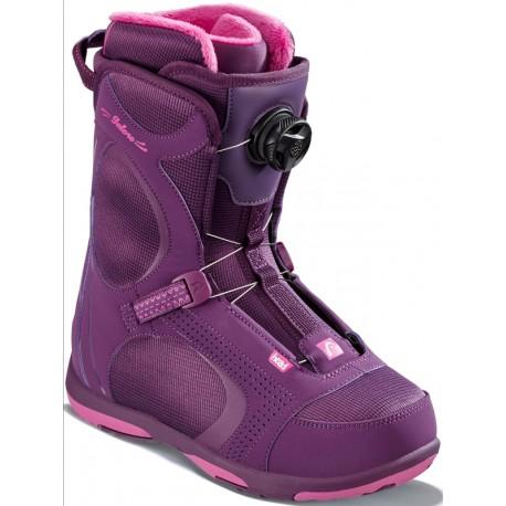 Snowboard boots HEAD GALORE PRO BOA purple