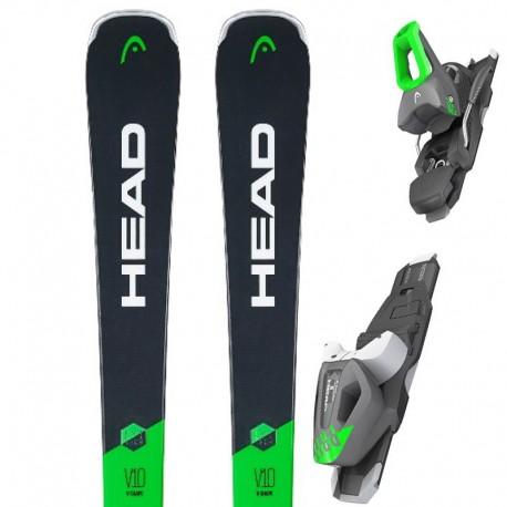Ski HEAD V- Shape V10 with bindings PR11 (2019)