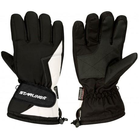 Gloves Ski Black/White (ZRW)