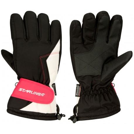 Γάντια Σκι Black/Pink/White (ZWW)