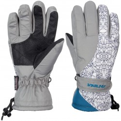 Ski Gloves Jounior Grey/White/Petrol (GWP)