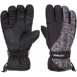 Ski Gloves Junior Black/White (ZWW)