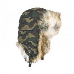 Σκουφί BREKKA Wool Eco Russia CAMO