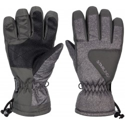 Ski Gloves Jounior Grey melange/Anthracite/White(GAW)