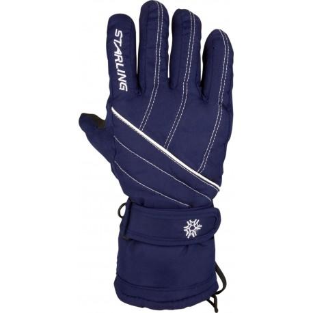Ski Gloves Navy Blue/White (MAW)