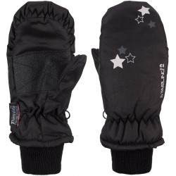 Ski Mittens Jounior Black/Grey (ZWG)