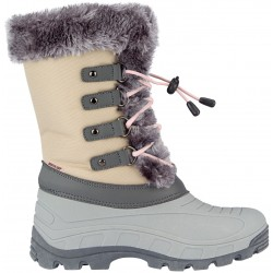 Apres ski boots beige/grey/light pink